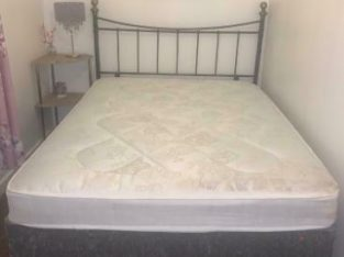 New Double Divan and mattress