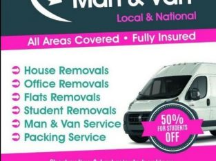 Man and Van Hire £20P/H Removals Services