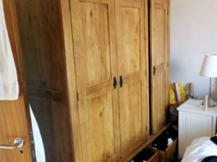 Oak furniture land wardrobe