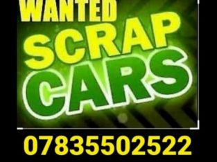 SCRAP CARS VANS WANTED TODAY
