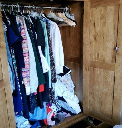 Oak furniture land wardrobe