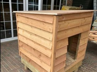 Dog kennel high quality heavy duty easy clean dog chickens rabbits