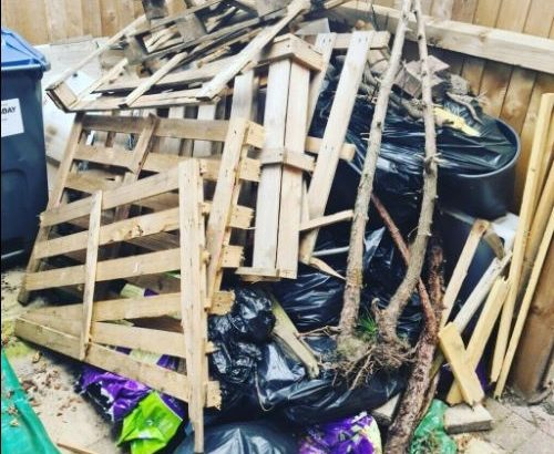 RUBBISH REMOVAL house garden garage office clearance waste man and van