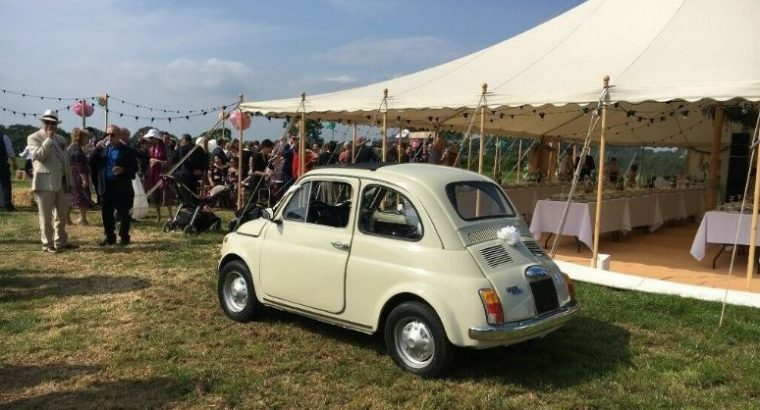 BEAUTIFUL 1969 FIAT 500 FOR HIRE – An Italian Classic Car for Weddings and Events