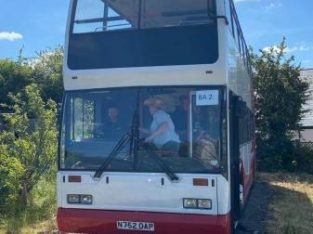 SCANIA DOUBLE DECKER BUS £6,000 no offers