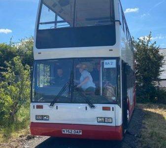 SCANIA DOUBLE DECKER BUS £6,000 no offers