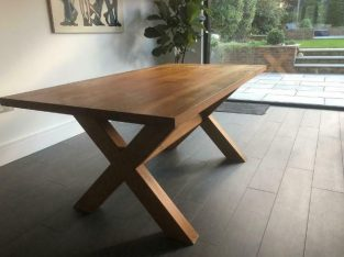 Heal's Kris Dining Table Solid Oak