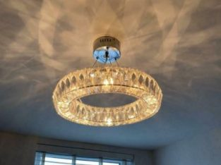 NEXT Crystal Halo Chandelier Light