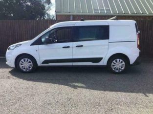 2018 Ford Transit Connect 2018 1.5 230 DCIV 100 BHP ** AIR CON ** EURO6 ** PANEL