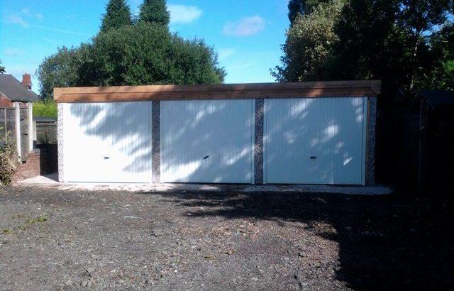Domestic Garages concrete New Builds – West Midlands