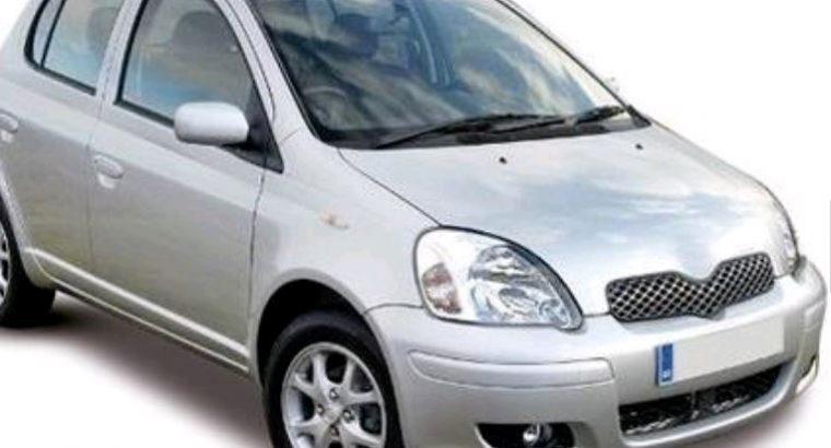 2005 Toyota Yaris 1.3 Silver 5 door BREAKING/PARTS
