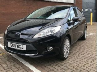 2011 Ford Fiesta Titanium automatic 1.4, 5 door