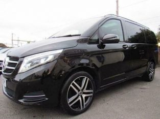 Mercedes Benz V Class for PCO hire