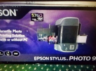Epson stylus photo printer. Boxed. Collect today cheap