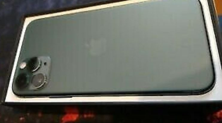 iPhone 11 Pro 64 Gb Midnight-Green Unlocked Full Box