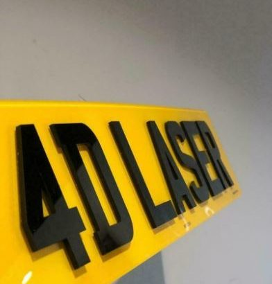 3D GEL AND 4D NUMBER PLATES