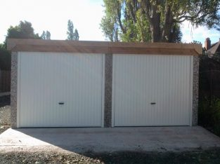 Domestic Garages concrete New Builds – West Midlands