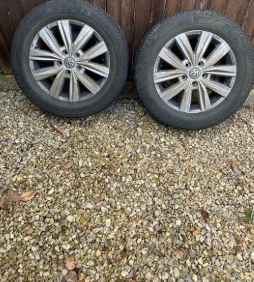 """VW Crafter 2, Genuine 17"""" Alloy Wheels"""