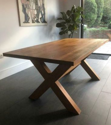 Heal's Kris Dining Table Solid Oak