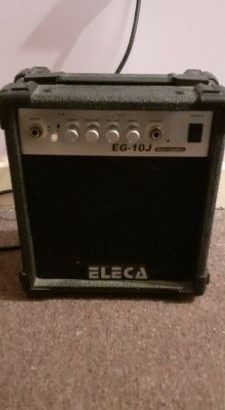 """ELECA"" Guitar Amplifier"