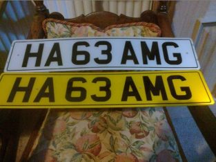 AMG private number plate on DVLA retain certificate 778 £5,000 no offers