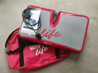 Vibrapower Life in Red with Shoulder Bag and Cordless Remote Control