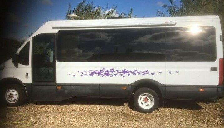 Iveco Dailey minibus conversion
