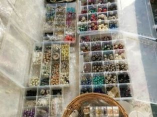 Craft beads, spacers, bead caps and jewellery making accessories.