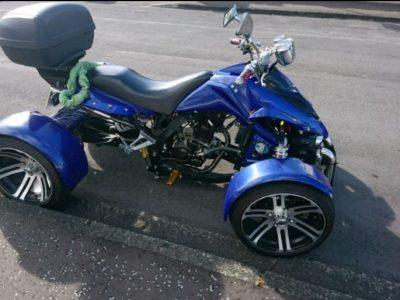 Quad 250cc Road legal