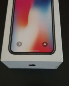 Boxed Apple iPhone X 64GB Space Grey UNLOCKED With New Genuine Apple Accessories