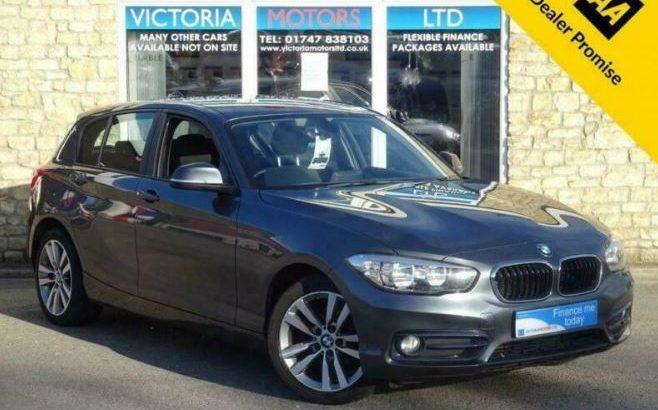 2015 BMW 1 Series 116D SPORT [£20 TAX] Turbo Diesel 5 Dr Hatchback Diesel