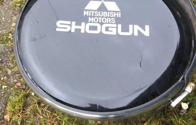 Shogun Spare Wheel Cover