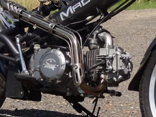 SACHS MADASS 125 WITH 140CC ENGINE FITTED