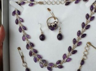 Amethyst Jewellery set