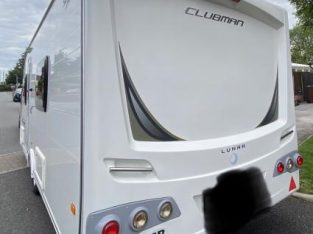 Lunar Clubman SB 4 Berth Caravan • 2 X Fixed Beds • M/Mover £12,495 ovno