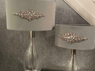 Two Customised Table Lamps