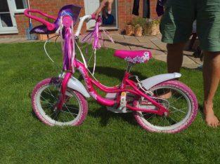 16″ girls bike £30 ono