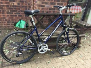 """Ridgeback terrain MXK mountain bike 19"""" frame ,as new Offer"""