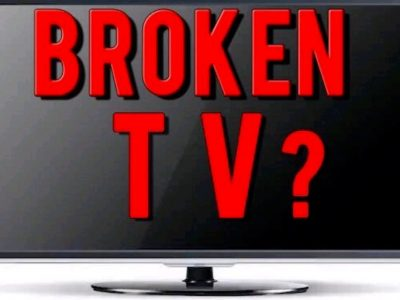 Wanted broken TVs