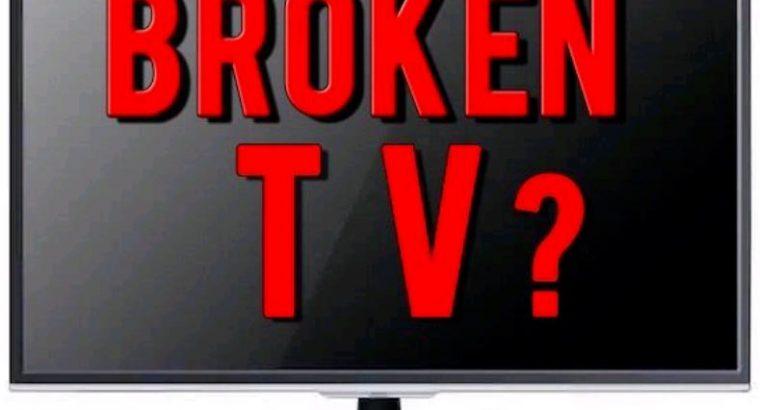 Wanted broken TVs