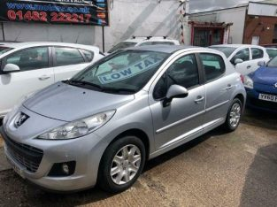 PEUGEOT 207 1.4 HDI ACTIVE 5d 68 BHP (silver) 2011