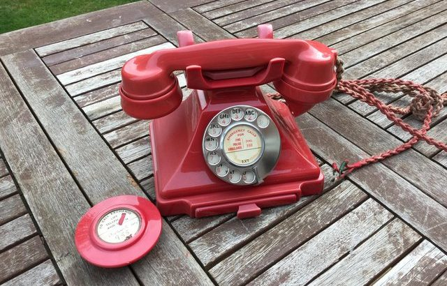 Telephone pyramid type 1950 very rare