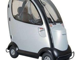 Brand New Shoprider Traveso 8mph Cabin Car, 1 years warranty,