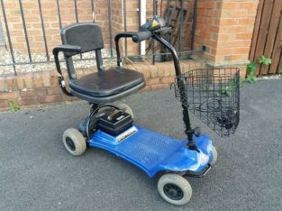 Mobility scooter, lovely lightweight model handy for putting in boot for trips further afield