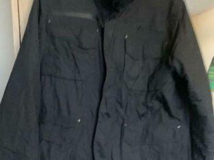 Worn ones mens coat size medium
