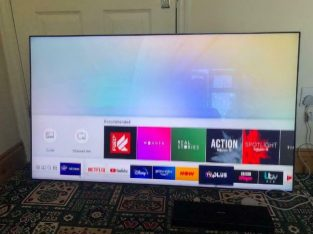 Samsung QE55Q7F 55 inch 4K Ultra HD Premium HDR 1500 Smart QLED TV TV Plus FUALTY