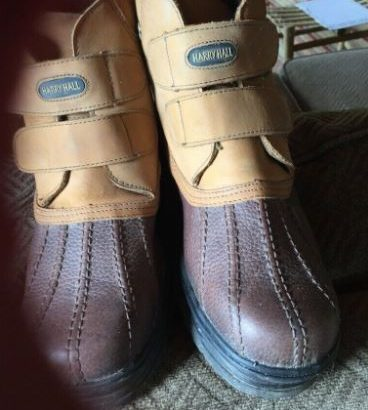 Harry hall mucked boots