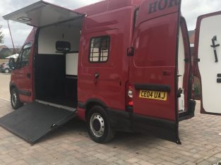 Renault master converted horsebox 3.5 ton £7000 ono