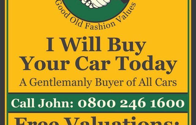 I WILL BUY YOUR CLASSIC CAR + KIT CAR + REGULAR CAR +