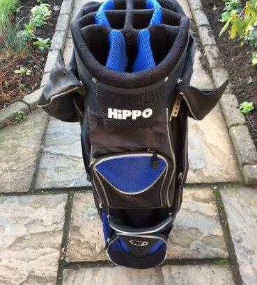 Hippo Golf Cart Bag – good condition